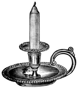 Antique candlestick clip art. Candles clipart old fashioned