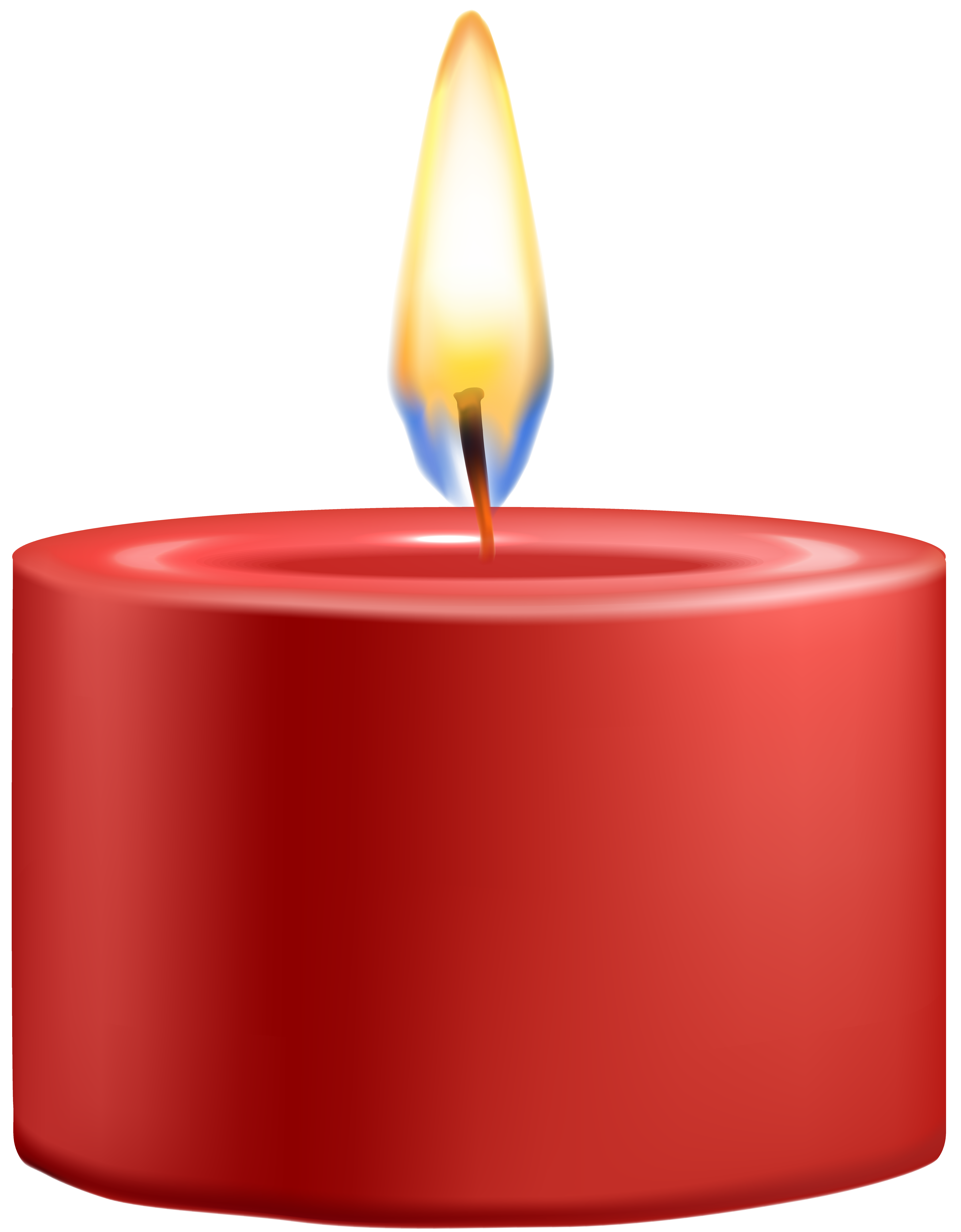Red png clip art. Clipart book candle
