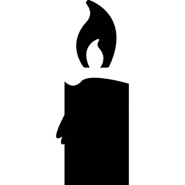 Candle at getdrawings com. Candles clipart silhouette