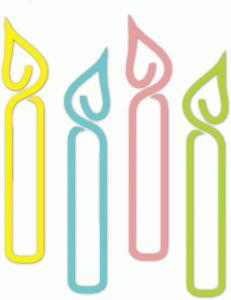 Candles clipart silhouette.  best clip art
