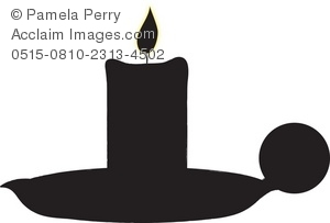 Stock photography acclaim images. Candle clipart silhouette