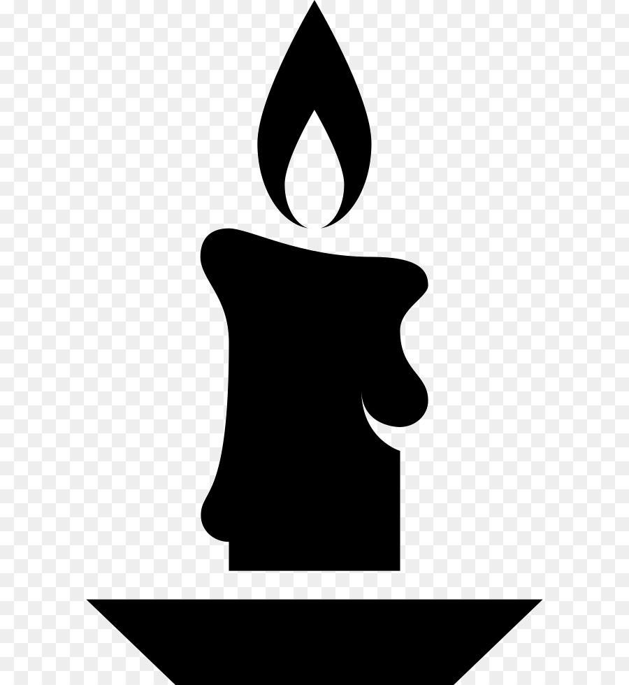 Clipart candle symbol. Design icon silhouette font