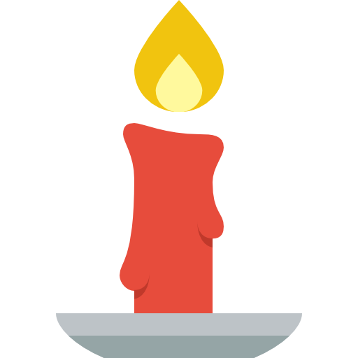 candles clipart simple
