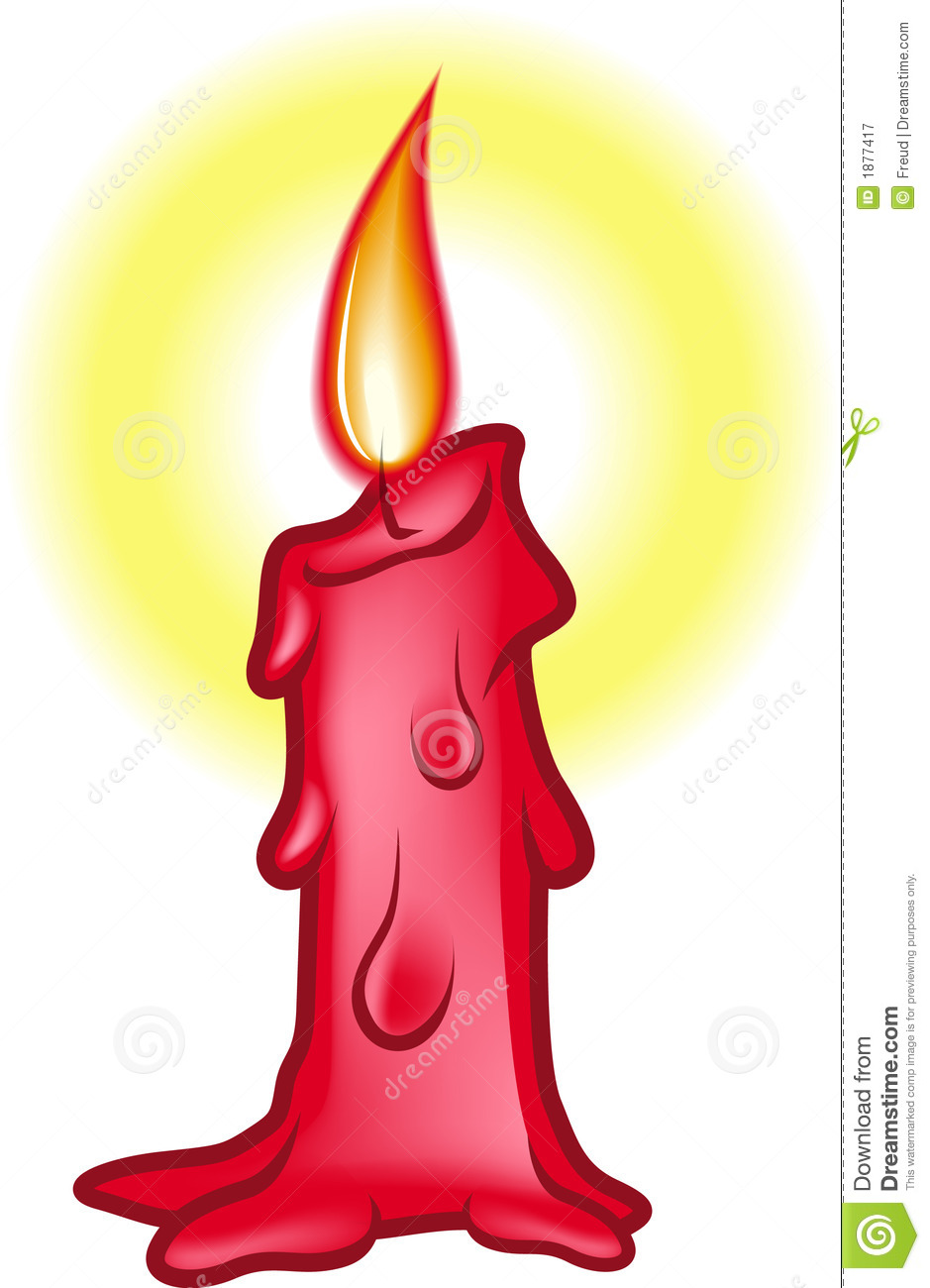 candle clipart single