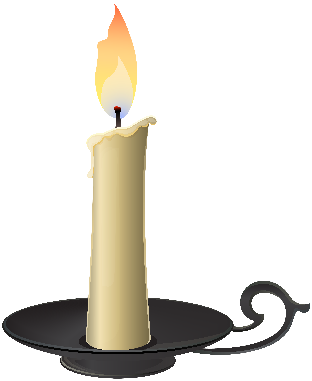 Candles clipart transparent background. Candlestick png clip art