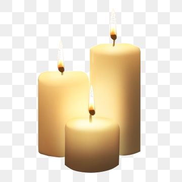 Candles clipart transparent background. White candle png vector