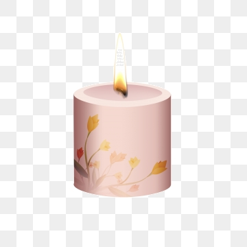 Scented candles png psd. Candle clipart vector