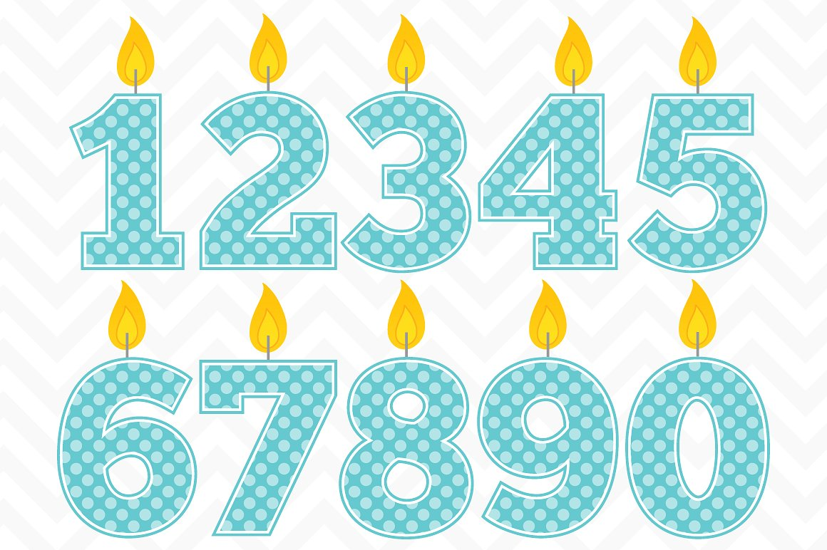 Clip art birthday candles. Candle clipart vector