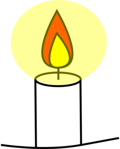 Clip art at clker. Candle clipart vector
