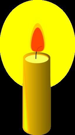 Candle Clipart Yellow Candle Candle Yellow Candle Transparent Free For Download On Webstockreview 2020