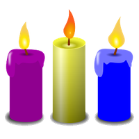 Download free png photo. Candles clipart