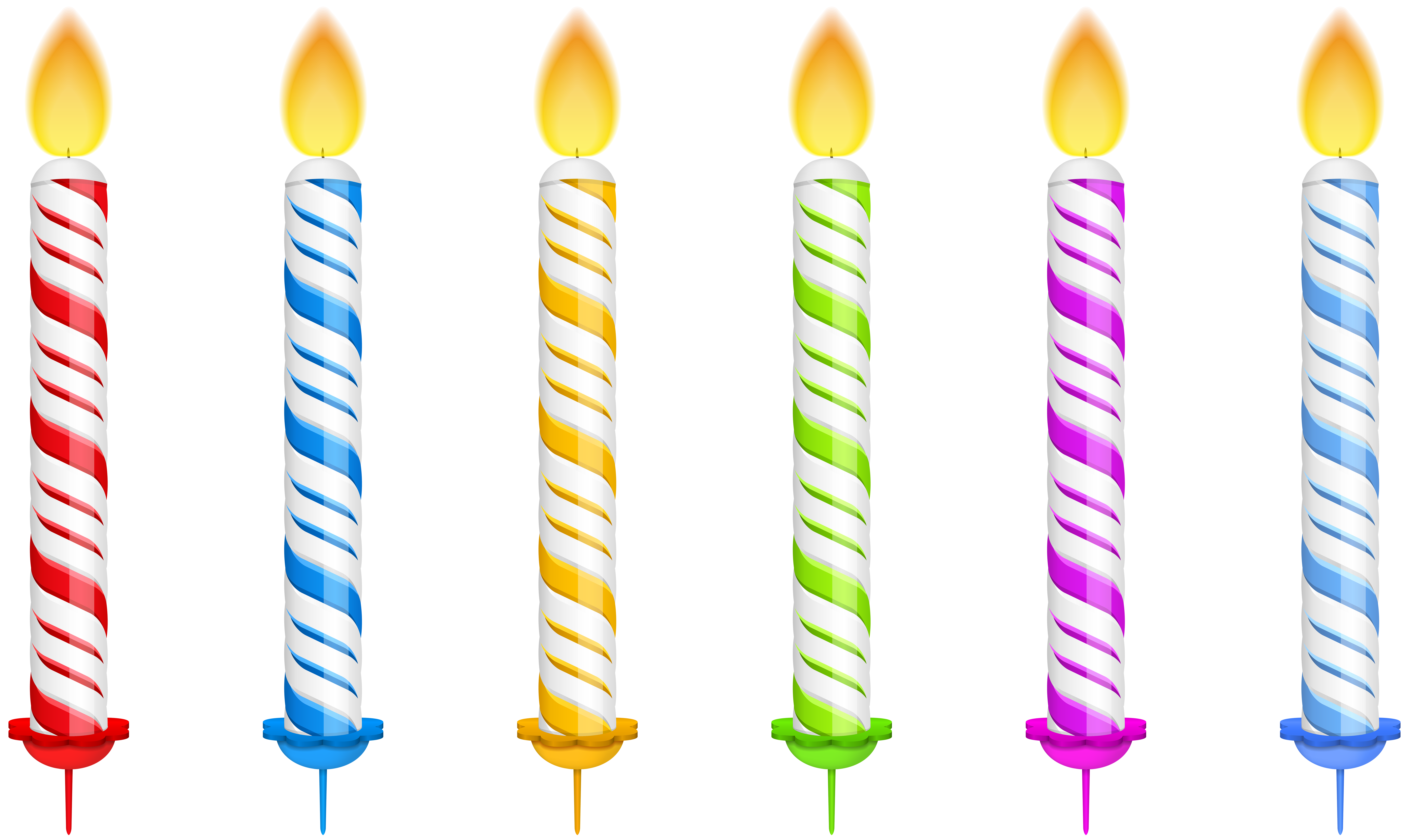 Birthday transparent png clip. Candles clipart