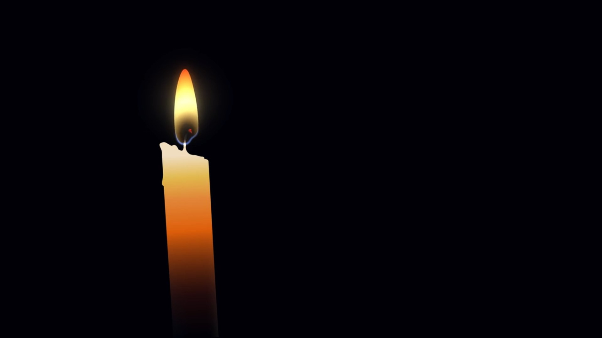 Candles clipart animated. Blow off candle animation