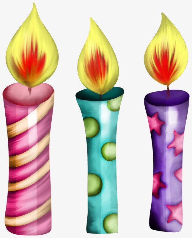 Three candle pretty purple. Candles clipart beautiful