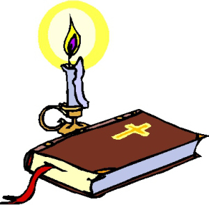 November the way truth. Candles clipart bible
