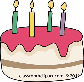 Candles clipart birthday cake. With classroom birthdaycakewithcandlesjpg