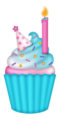 Free clip art delightful. Candles clipart birthday cupcake