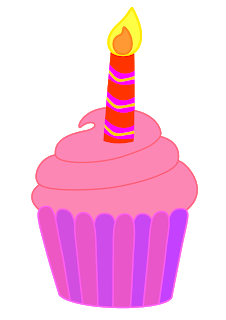 Candle clipart birthday cupcake. Classroom treasures cupcakes the