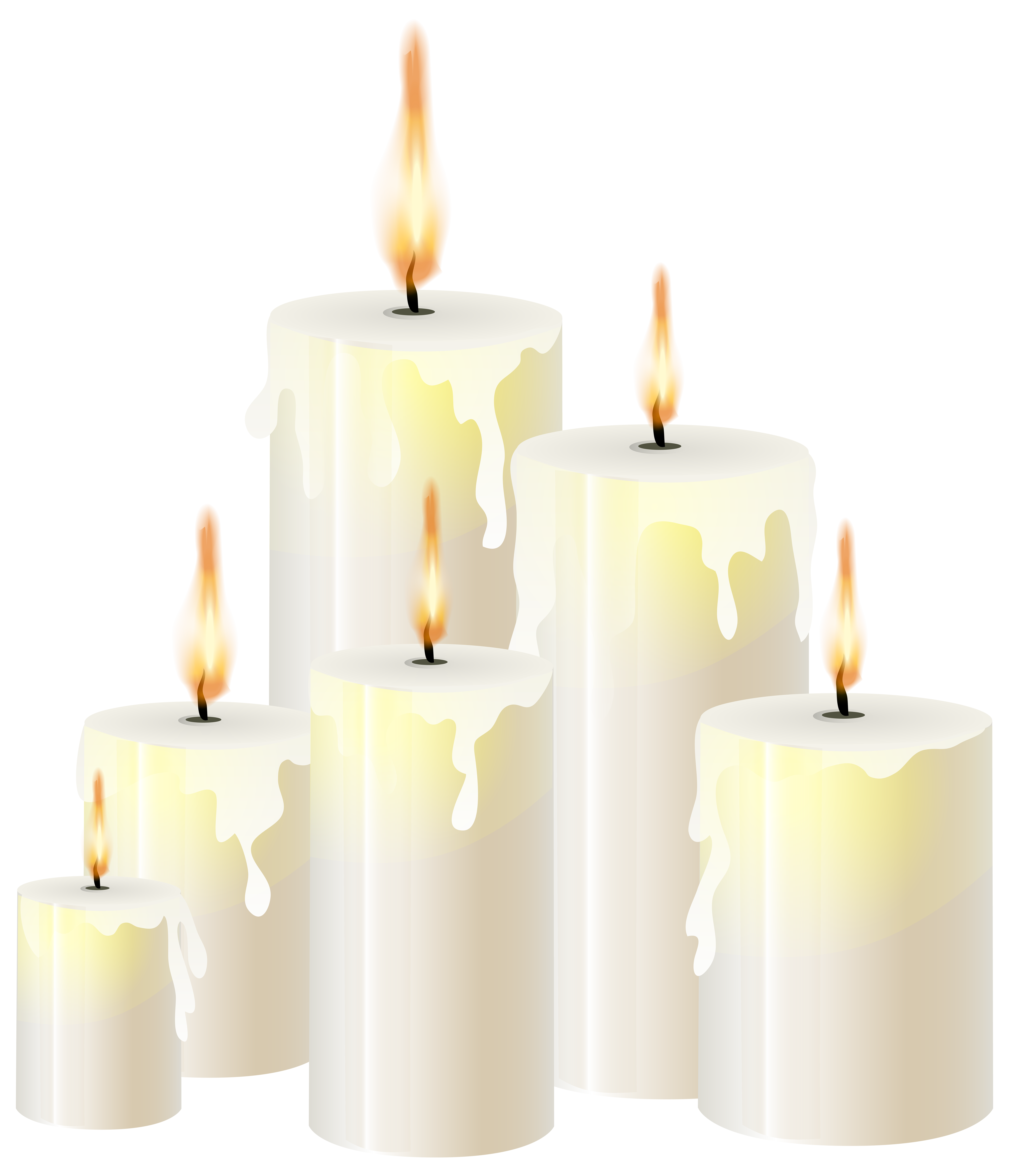 Clipart book candle. White candles png clip