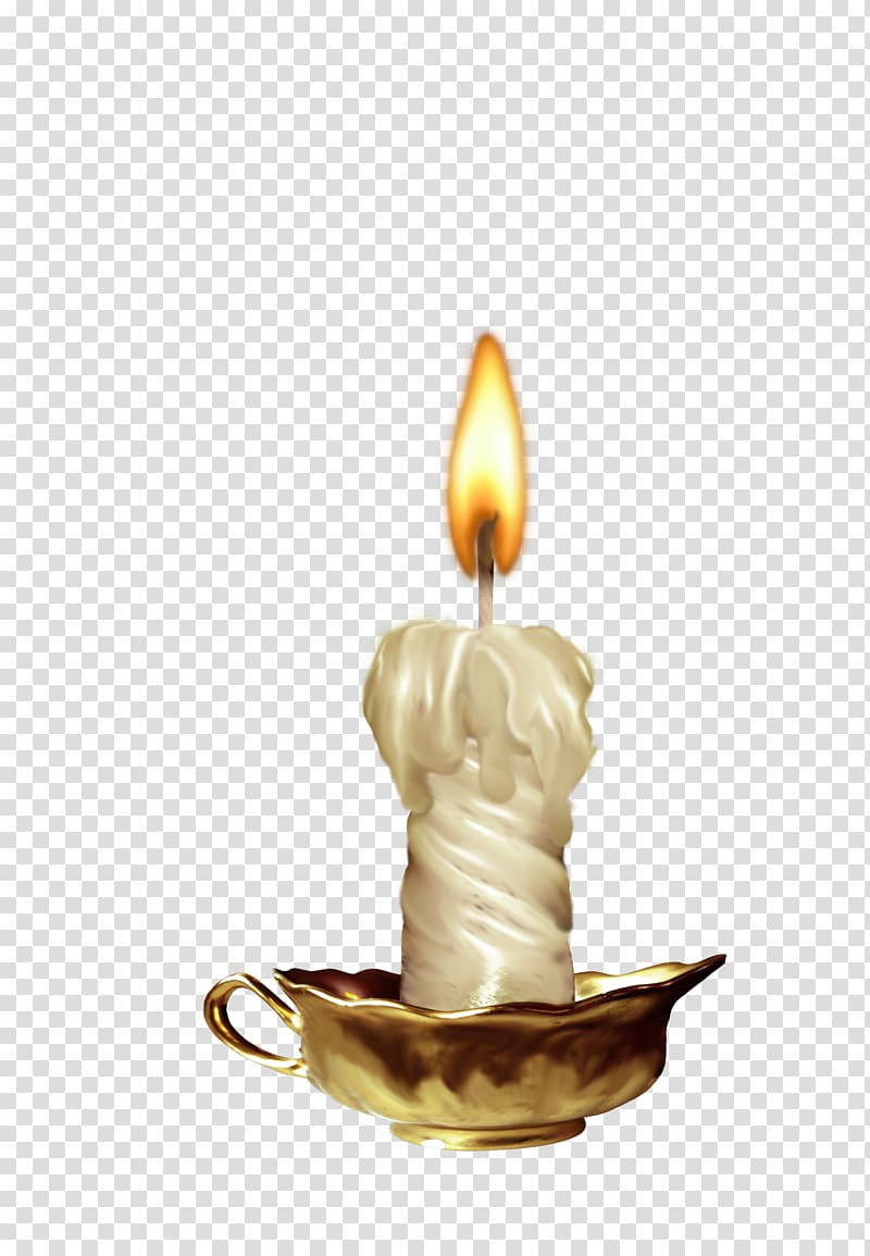 White lit burning transparent. Candles clipart candle light