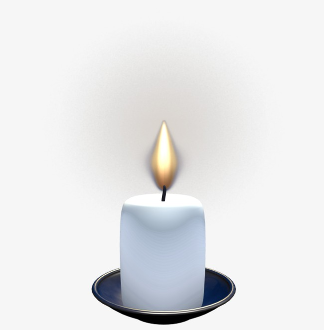 Burning candlelight png image. Candles clipart candle light