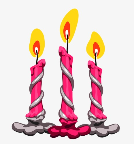 Candle birthday holiday png. Candles clipart cartoon