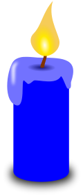 Candles clipart colored. Free candle page of