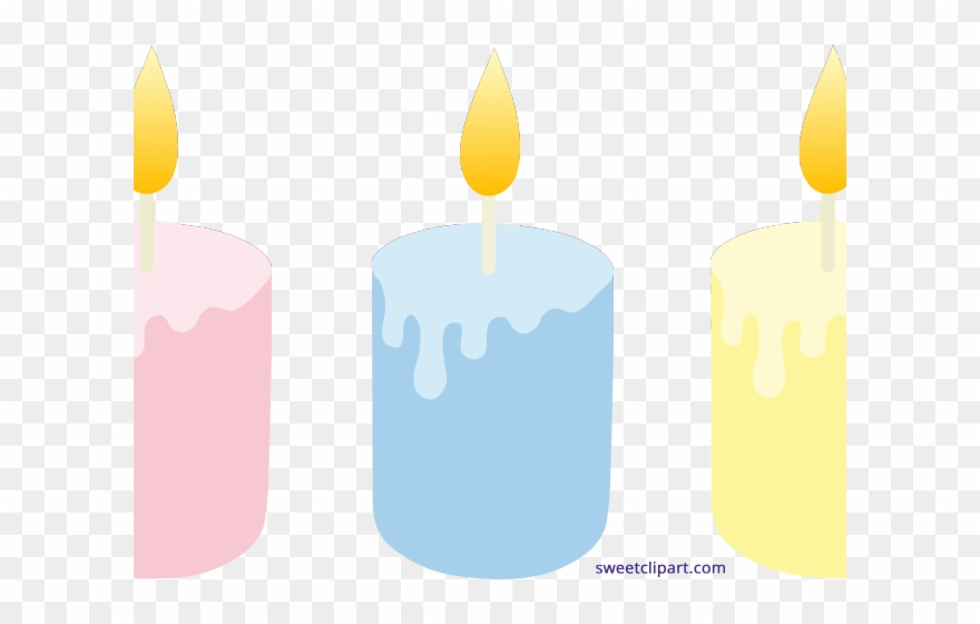 Png download pinclipart . Candles clipart colored
