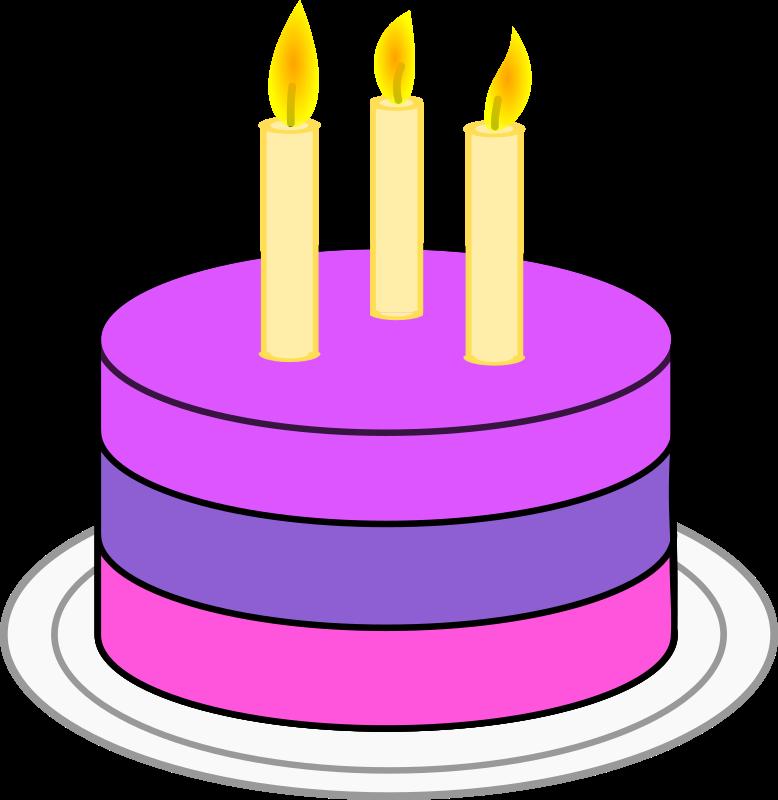 Candles clipart pdf. Sour cherry birthdaycake cake