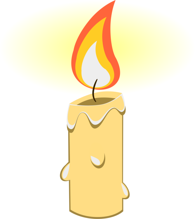 Candles clipart pdf. Fire flame birthday candle