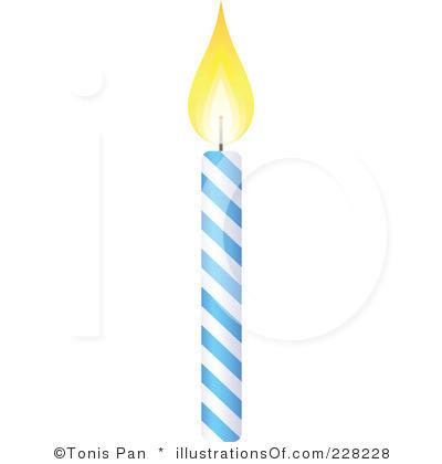 Birthday cake clip panda. Candles clipart single