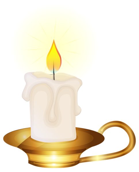 Candles clipart transparent background. Best png freeclipartpictures winterpng