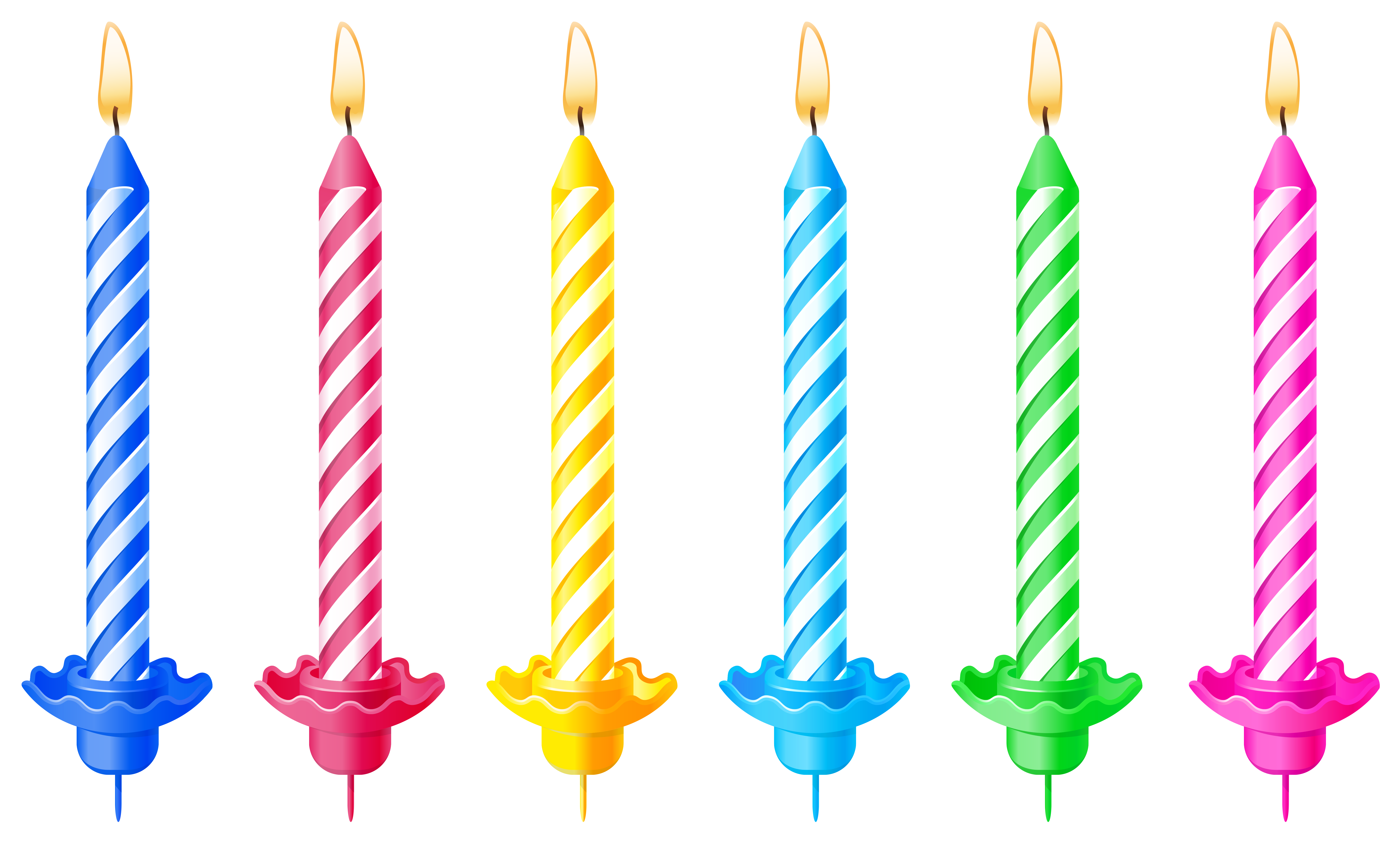Birthday png picture gallery. Candles clipart transparent background