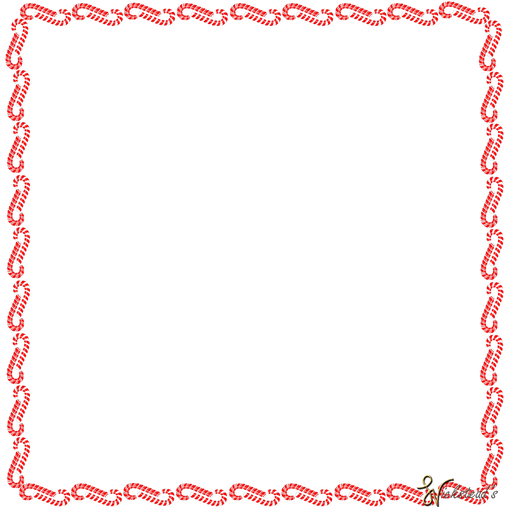 Candycane for christmas fun. Candy cane border png