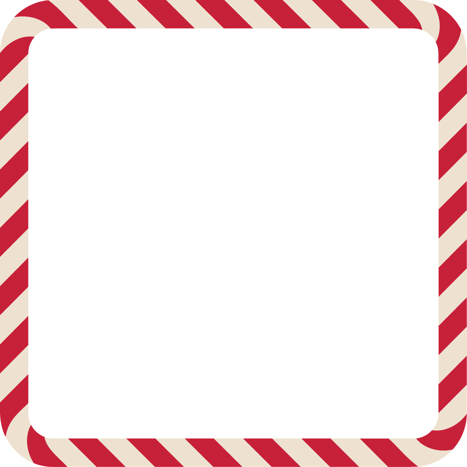 Candy cane border png.  for free download