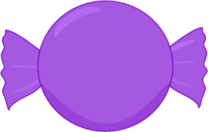 Clip art images purple. Candy clipart
