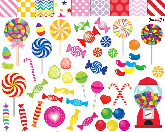 Candy clipart.  clip art printable