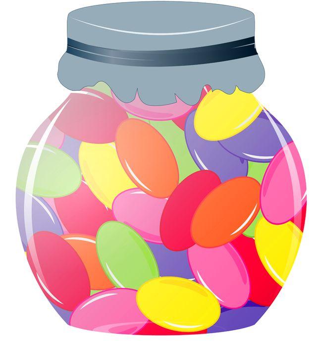 Station . Jar clipart candy jar