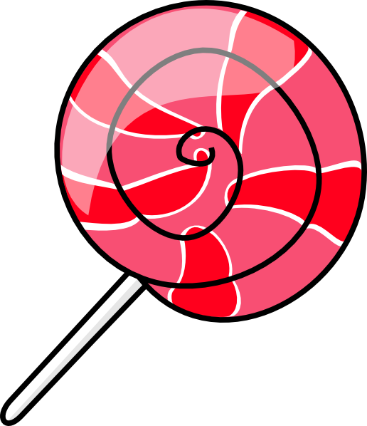 Candy clip art at. Lollipop clipart chocolate lollipop