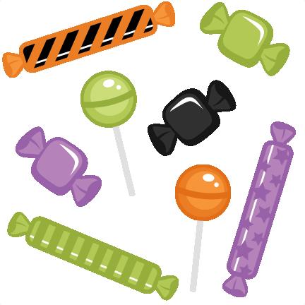 Halloween candy clip art. 5 clipart cute
