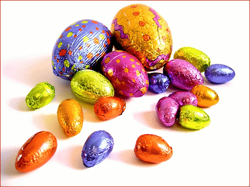 Free public domain holiday. Clipart easter candy