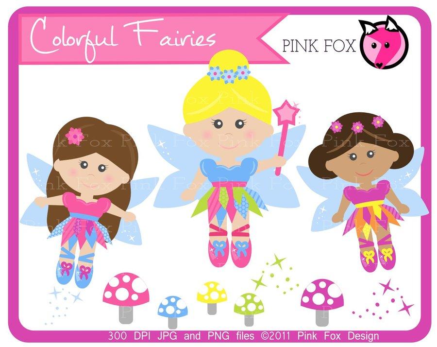 . Fairy clipart candy