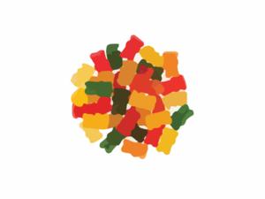 Clip art at clker. Candy clipart gummy bears