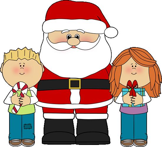 Christmas clip art images. Santa clipart
