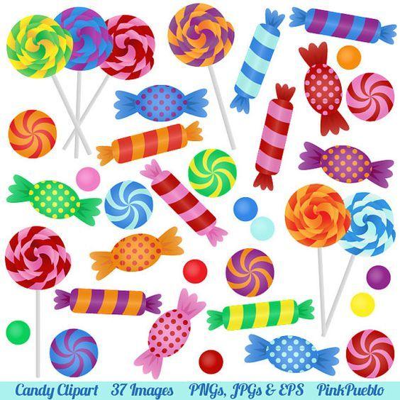 Candy clipart lollipop. Clip art with lollipops