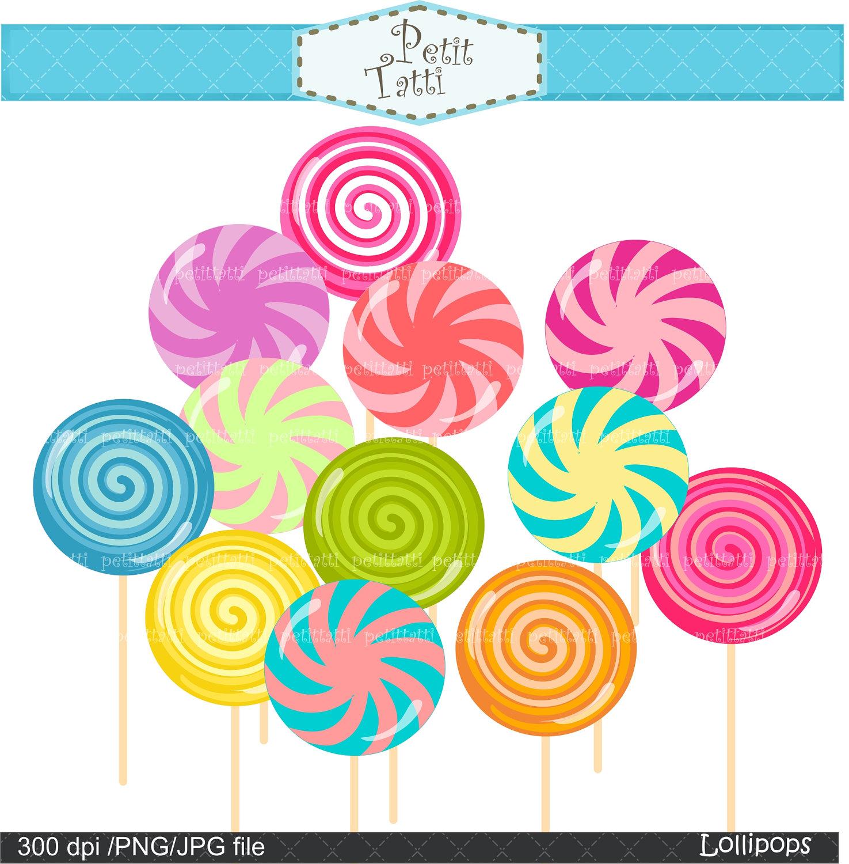 . Candy clipart lollipop