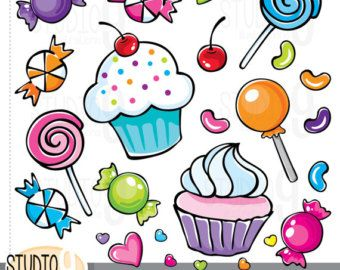 Candy clipart sweet food.  best images on