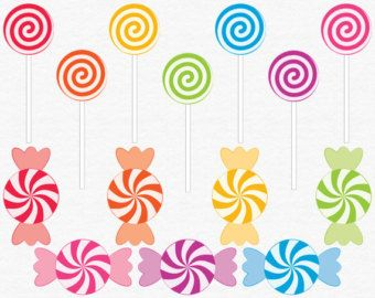Lollipop clipart swirl lollipop. Digital candy clip art