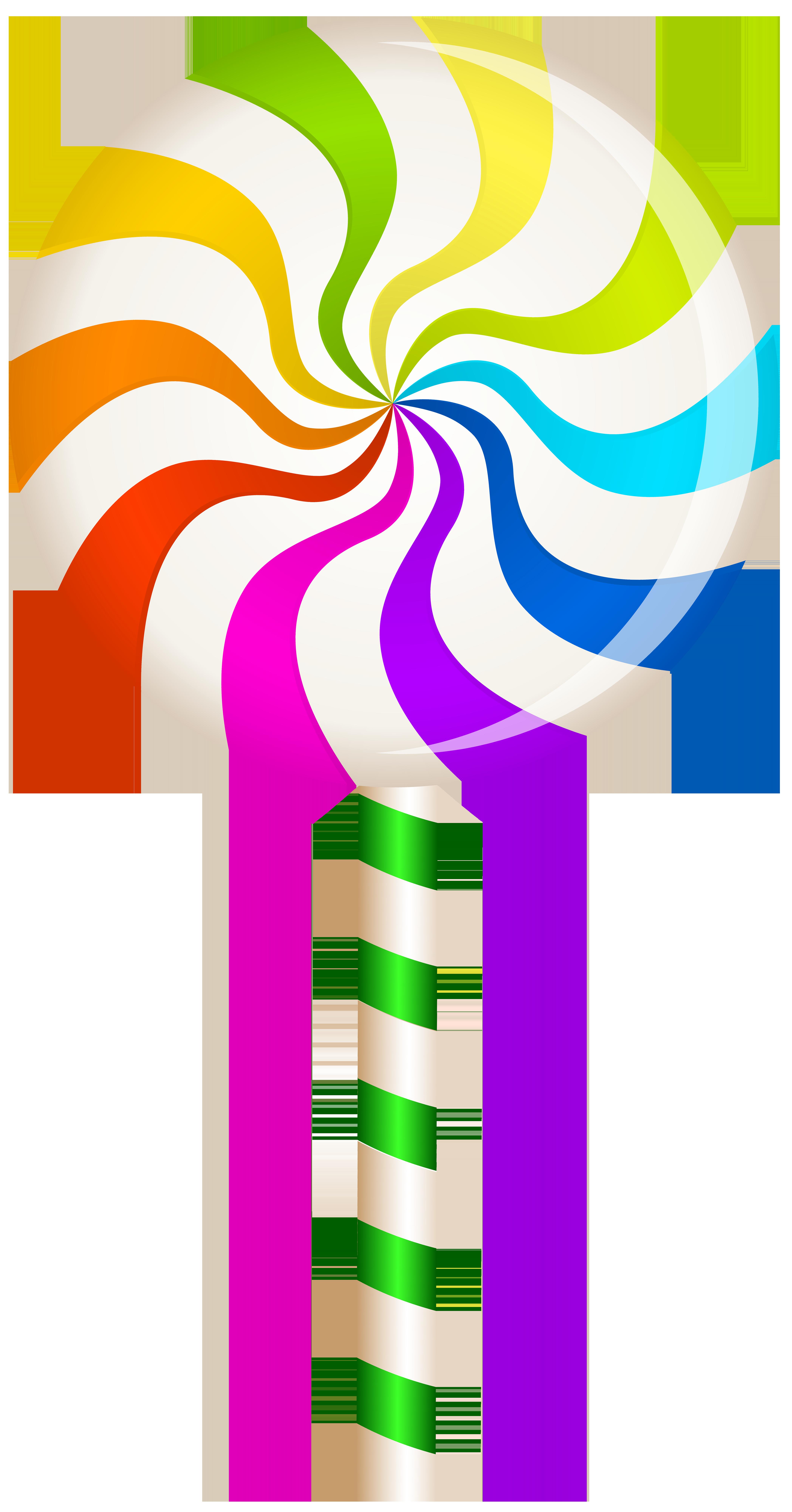 Clipart hearts lollipop. Multicolor swirl png clip