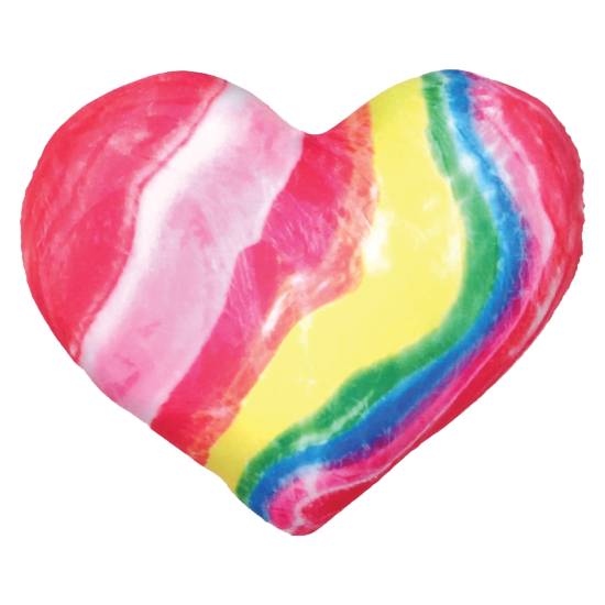 Candy hearts png. Heart microbead pillow iscream